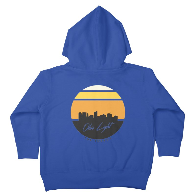 Ohio Light Kids Toddler Zip-Up Hoody by The Turbos Merch Stand