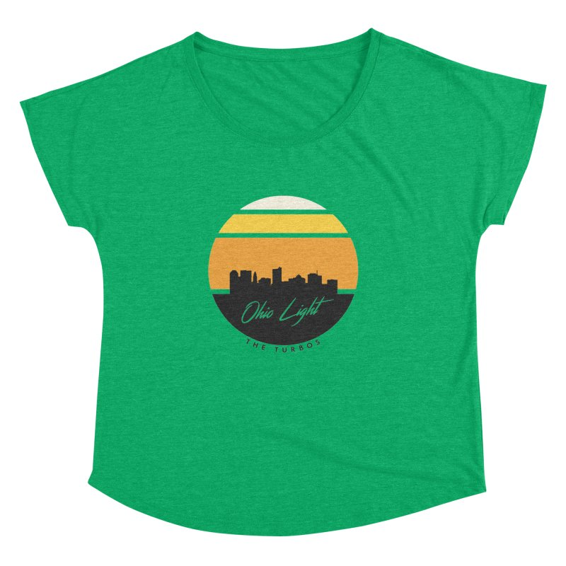 Ohio Light Women's Dolman Scoop Neck by The Turbos Merch Stand