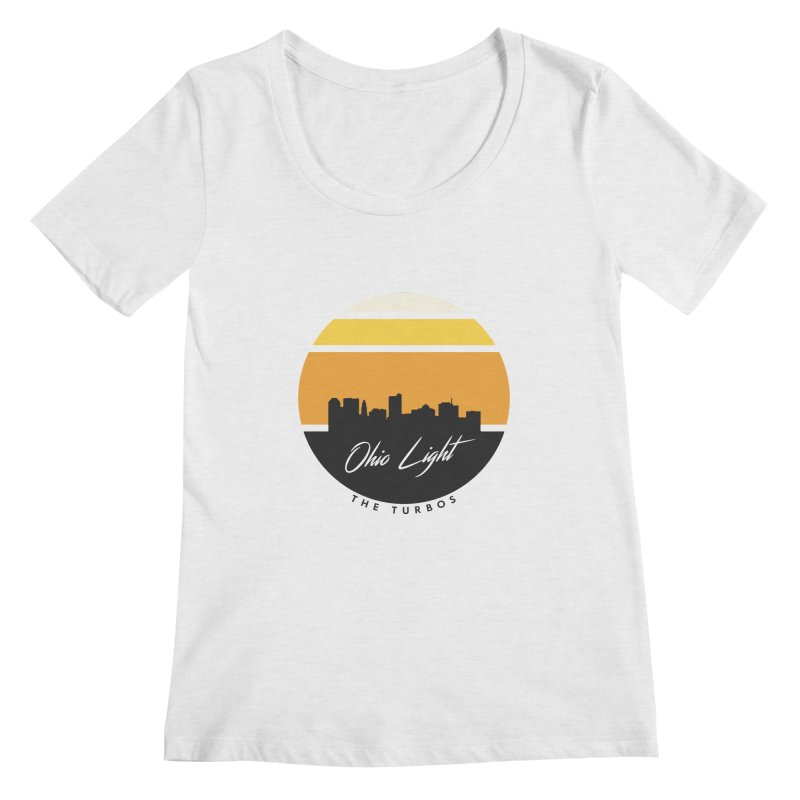 Ohio Light Women's Regular Scoop Neck by The Turbos Merch Stand