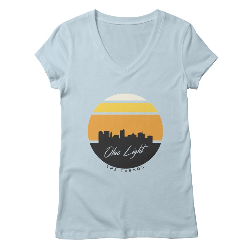 Ohio Light Women's Regular V-Neck by The Turbos Merch Stand
