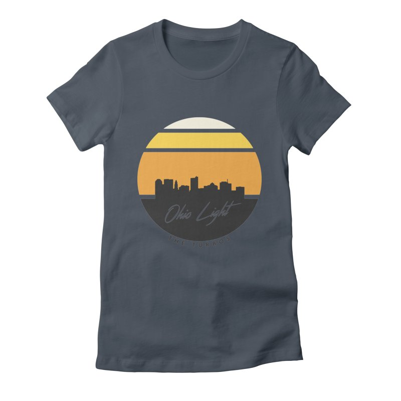 Ohio Light Women's Fitted T-Shirt by The Turbos Merch Stand