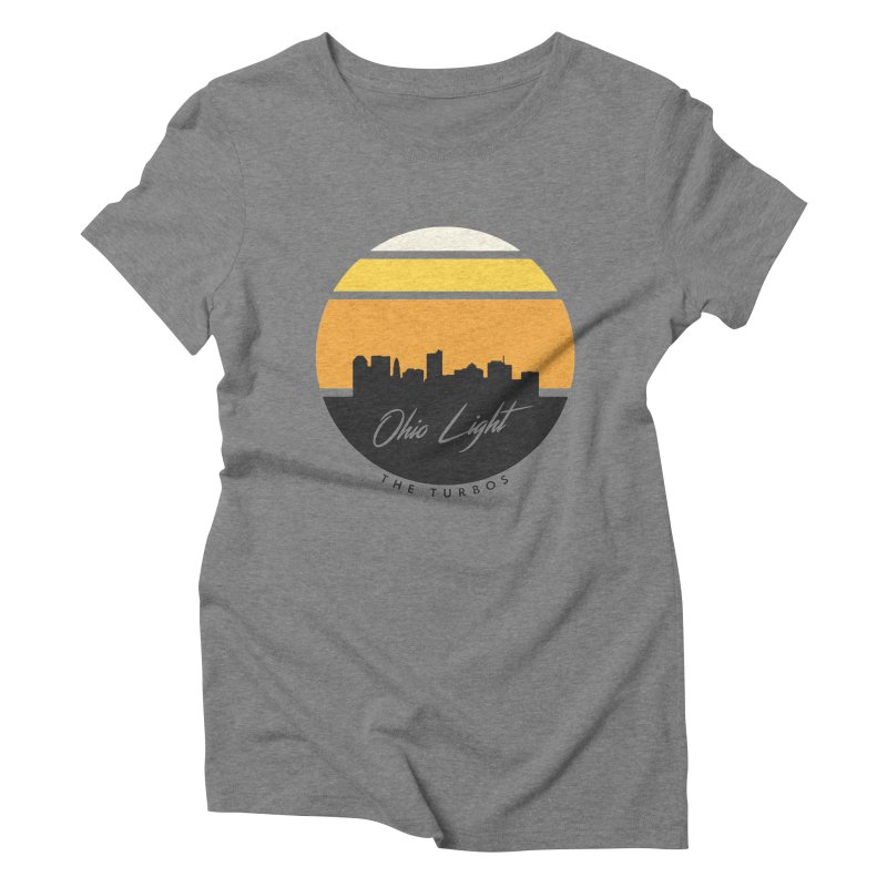 Ohio Light Women's Triblend T-Shirt by The Turbos Merch Stand