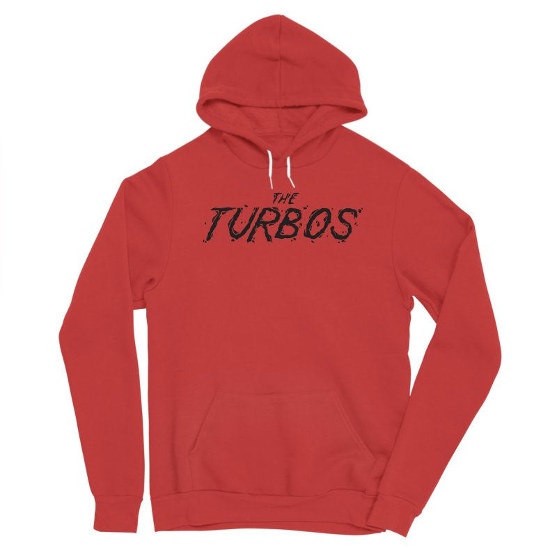 Black Splat Script Women's Pullover Hoody by The Turbos Merch Stand