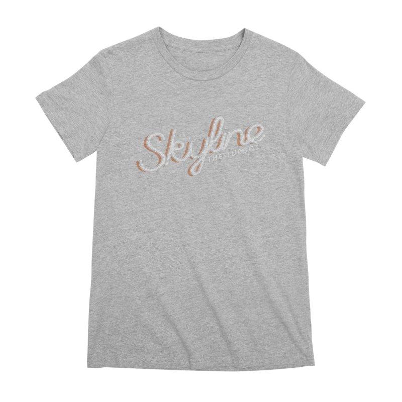 Skyline Women's Premium T-Shirt by The Turbos Merch Stand