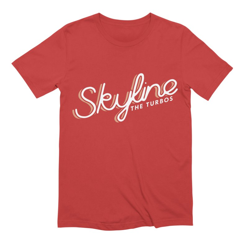 Skyline Men's Extra Soft T-Shirt by The Turbos Merch Stand