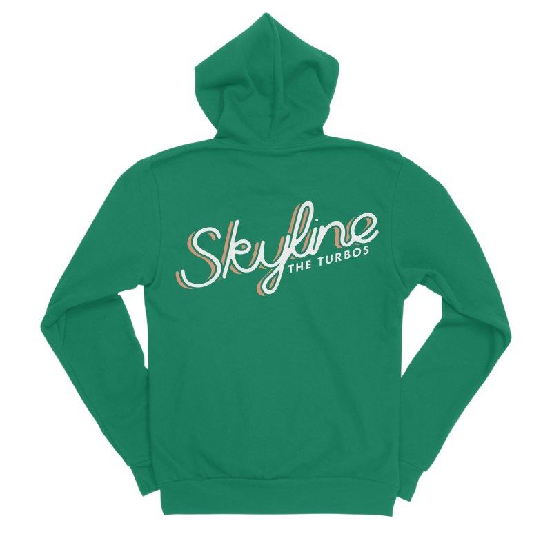 Skyline Women's Sponge Fleece Zip-Up Hoody by The Turbos Merch Stand