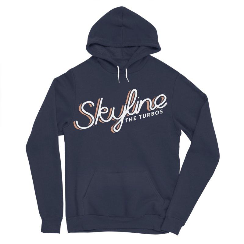 Skyline Men's Sponge Fleece Pullover Hoody by The Turbos Merch Stand