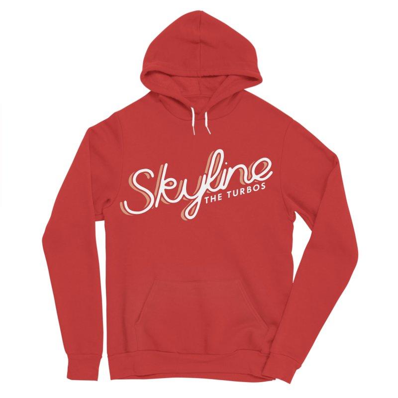 Skyline Women's Sponge Fleece Pullover Hoody by The Turbos Merch Stand