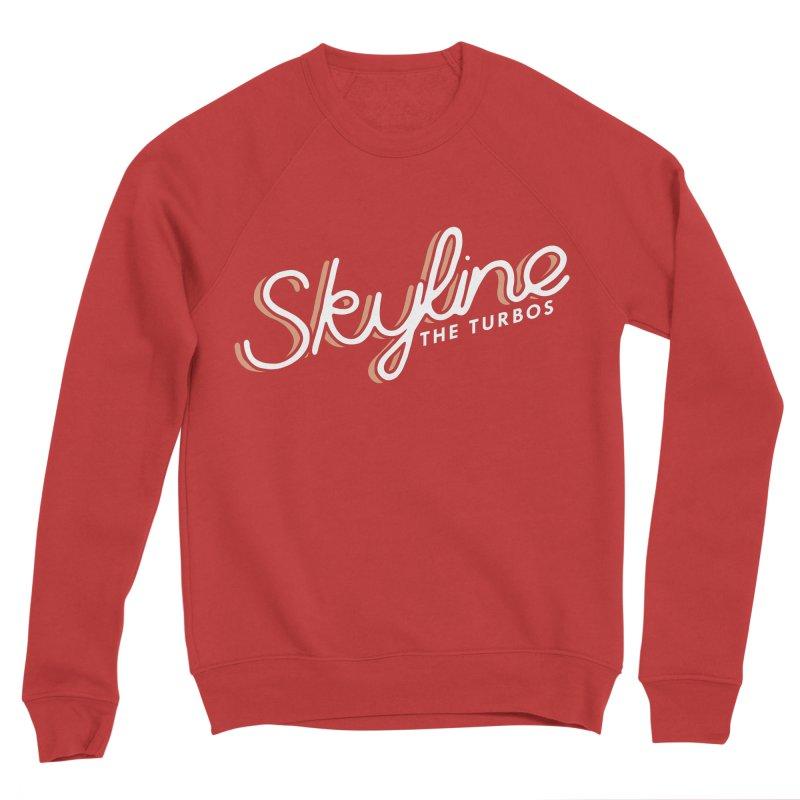 Skyline Men's Sponge Fleece Sweatshirt by The Turbos Merch Stand