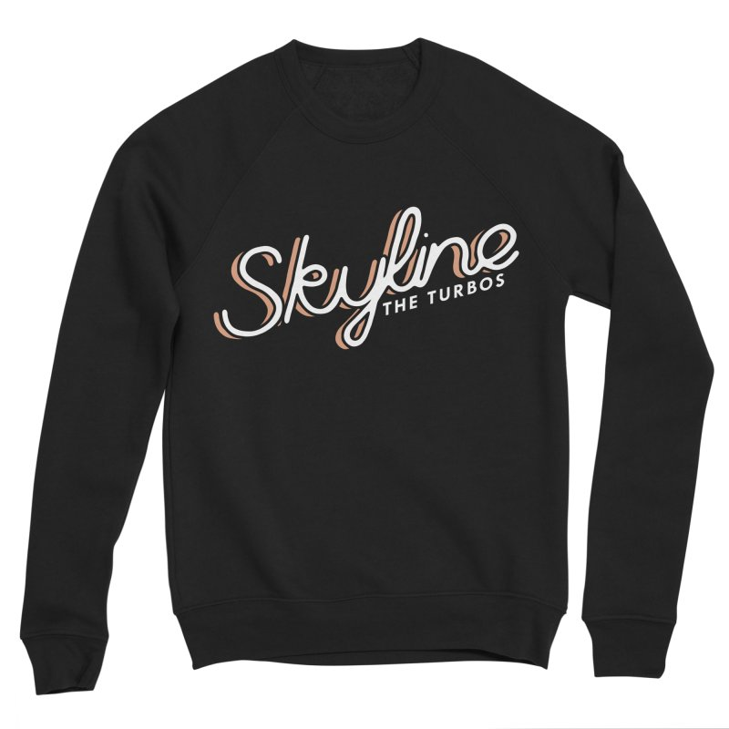 Skyline Women's Sponge Fleece Sweatshirt by The Turbos Merch Stand