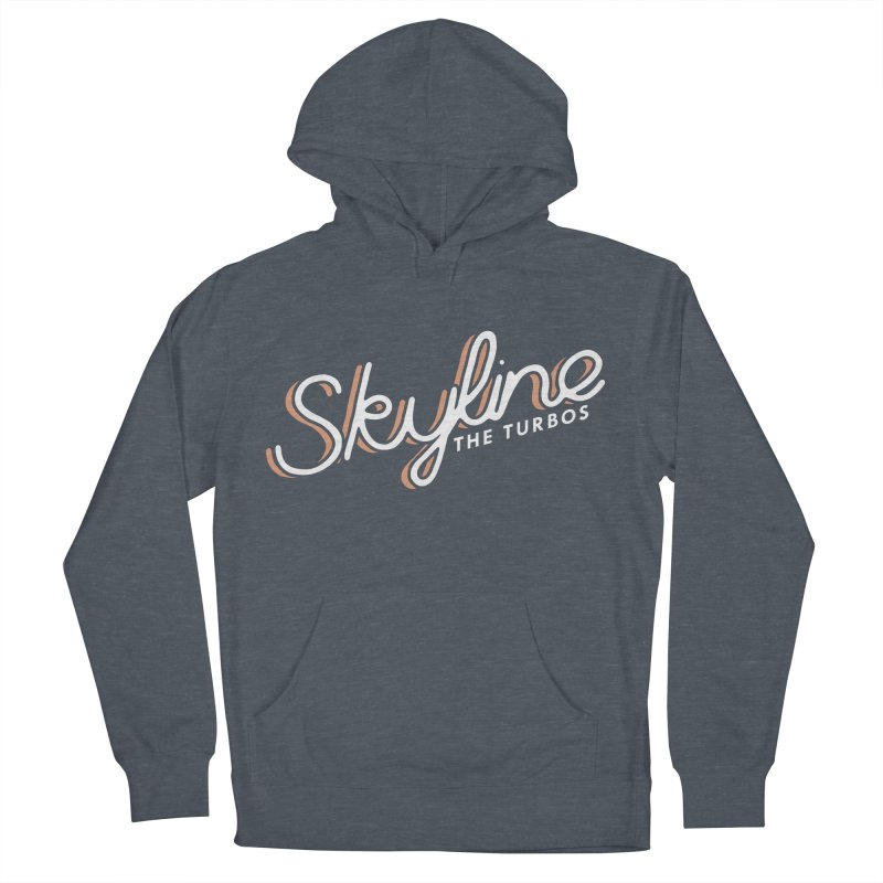 Skyline Women's French Terry Pullover Hoody by The Turbos Merch Stand