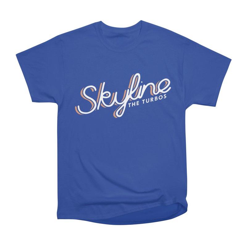 Skyline Women's Heavyweight Unisex T-Shirt by The Turbos Merch Stand