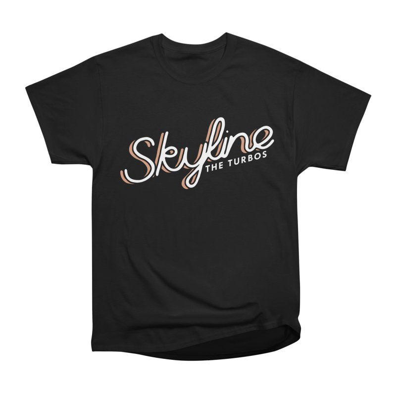 Skyline Women's Heavyweight Unisex T-Shirt by The Turbos Merch Stand