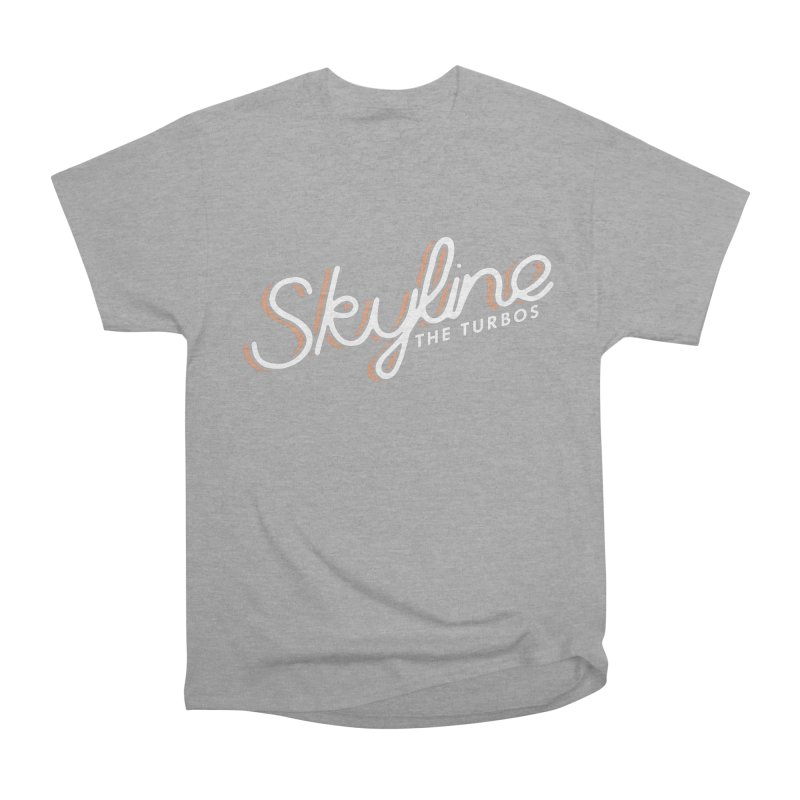 Skyline Men's Heavyweight T-Shirt by The Turbos Merch Stand