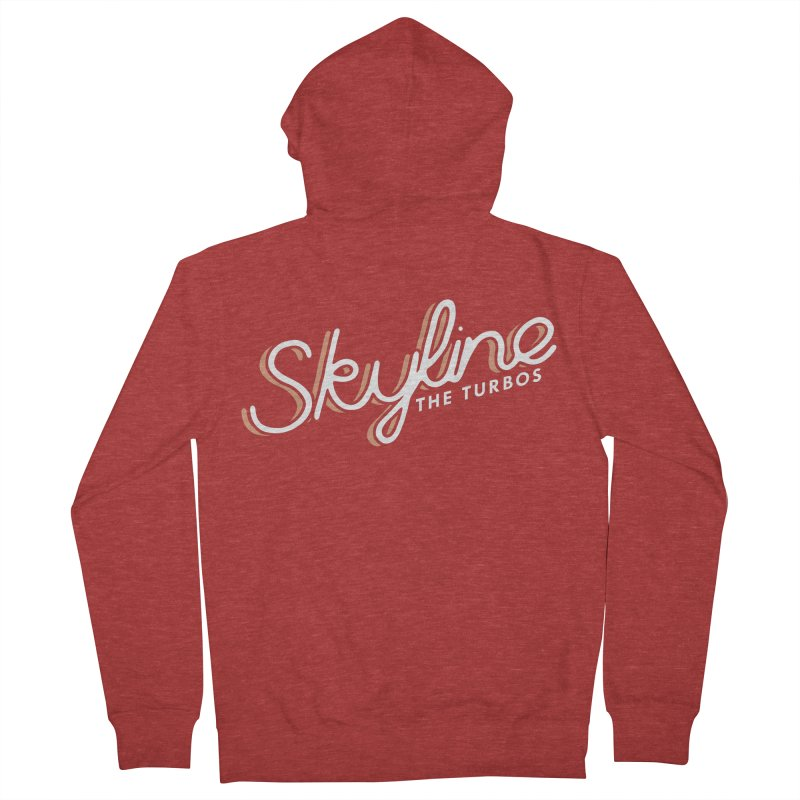 Skyline Men's French Terry Zip-Up Hoody by The Turbos Merch Stand