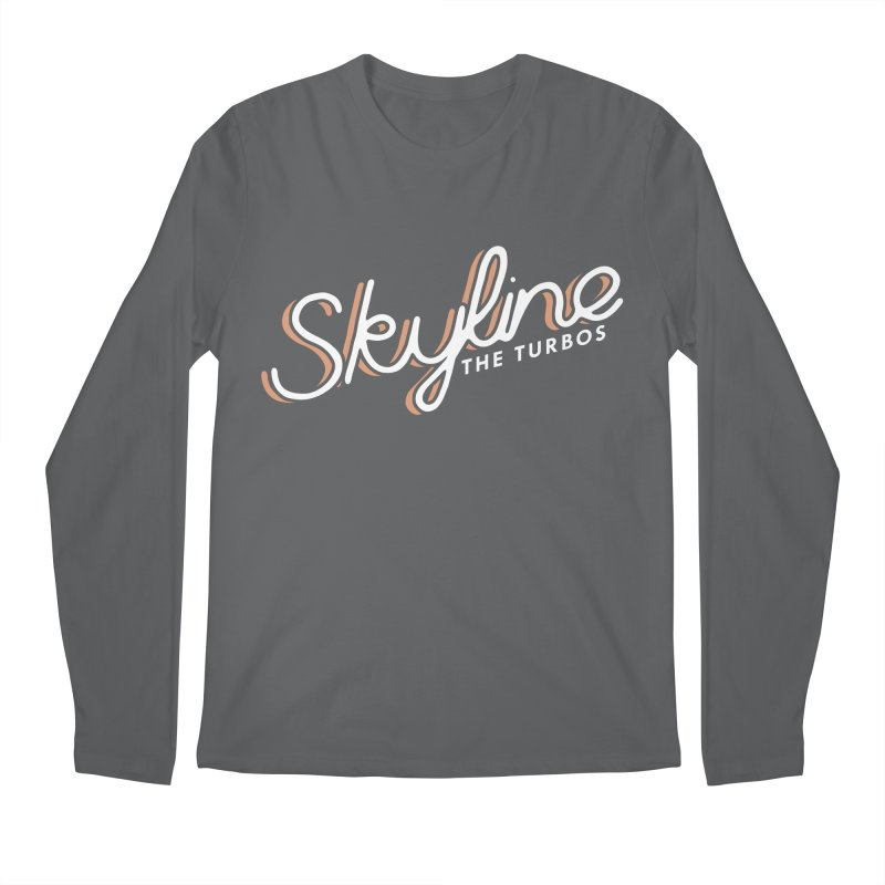 Skyline Men's Longsleeve T-Shirt by The Turbos Merch Stand