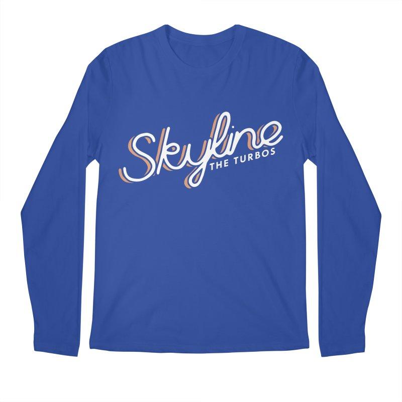 Skyline Men's Regular Longsleeve T-Shirt by The Turbos Merch Stand