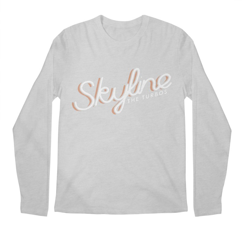 Skyline Men's Regular Longsleeve T-Shirt by The Turbos Merch Stand
