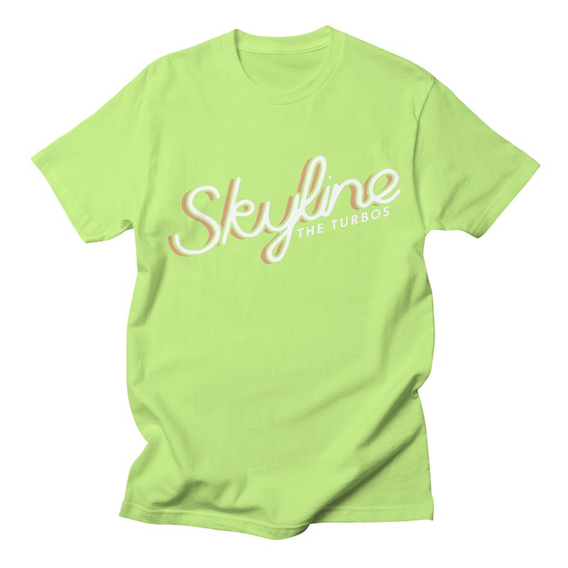 Skyline Women's Regular Unisex T-Shirt by The Turbos Merch Stand