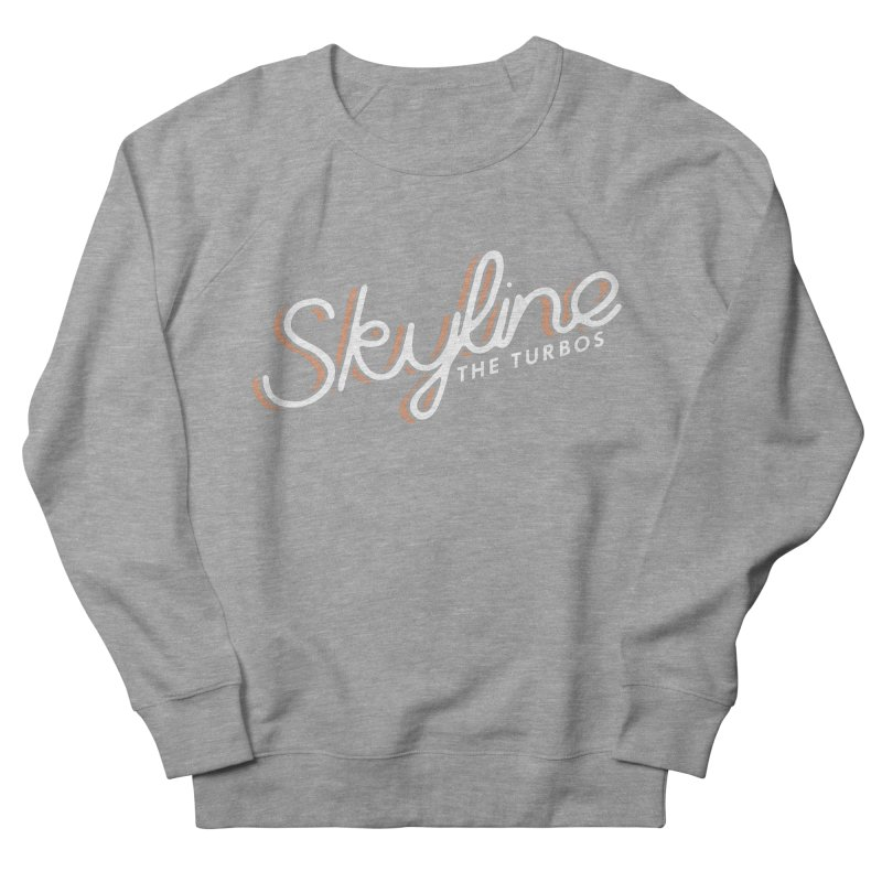 Skyline Men's French Terry Sweatshirt by The Turbos Merch Stand