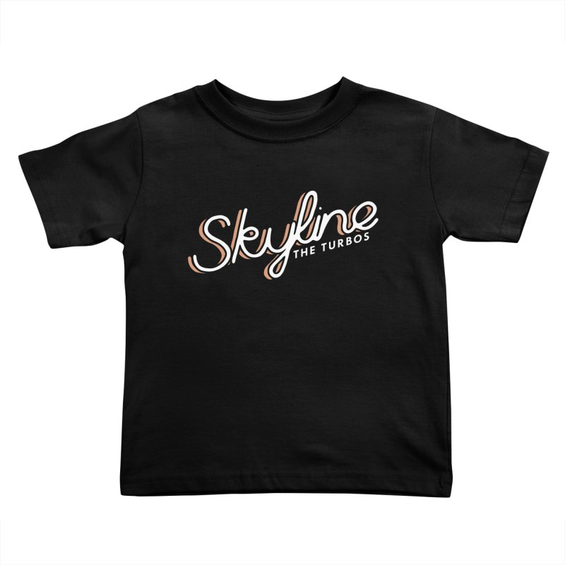 Skyline Kids Toddler T-Shirt by The Turbos Merch Stand