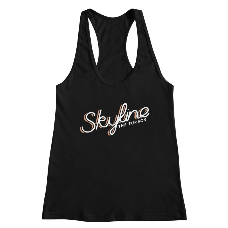 Skyline Women's Tank by The Turbos Merch Stand