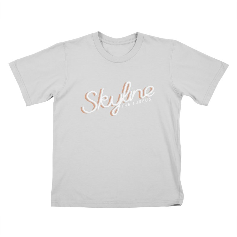 Skyline Kids T-Shirt by The Turbos Merch Stand