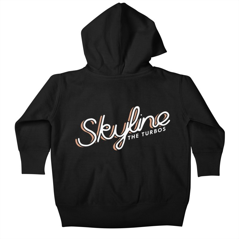 Skyline Kids Baby Zip-Up Hoody by The Turbos Merch Stand