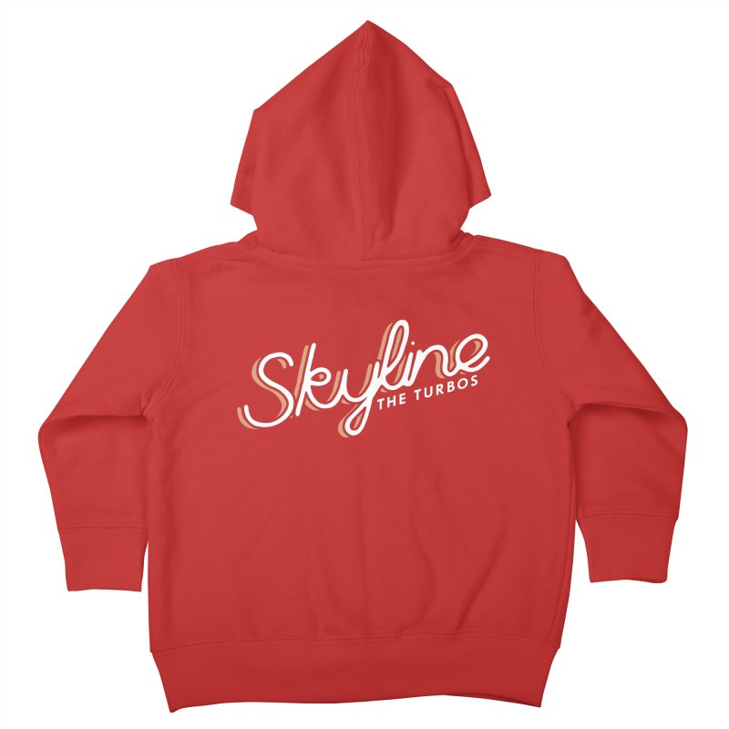 Skyline Kids Toddler Zip-Up Hoody by The Turbos Merch Stand