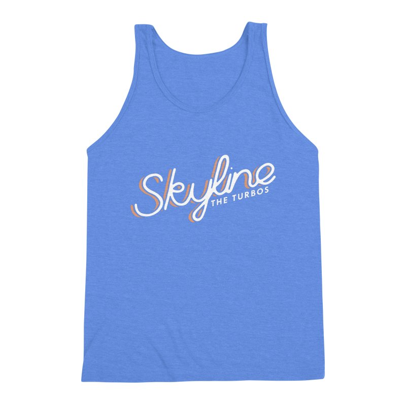 Skyline Men's Triblend Tank by The Turbos Merch Stand