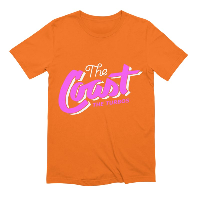 The Coast Men's Extra Soft T-Shirt by The Turbos Merch Stand