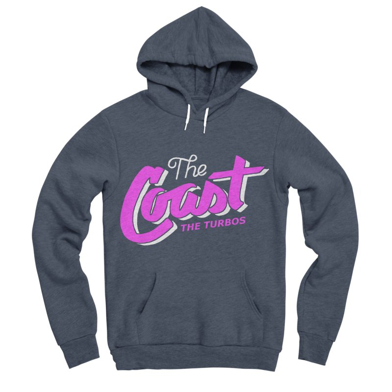 The Coast Men's Sponge Fleece Pullover Hoody by The Turbos Merch Stand
