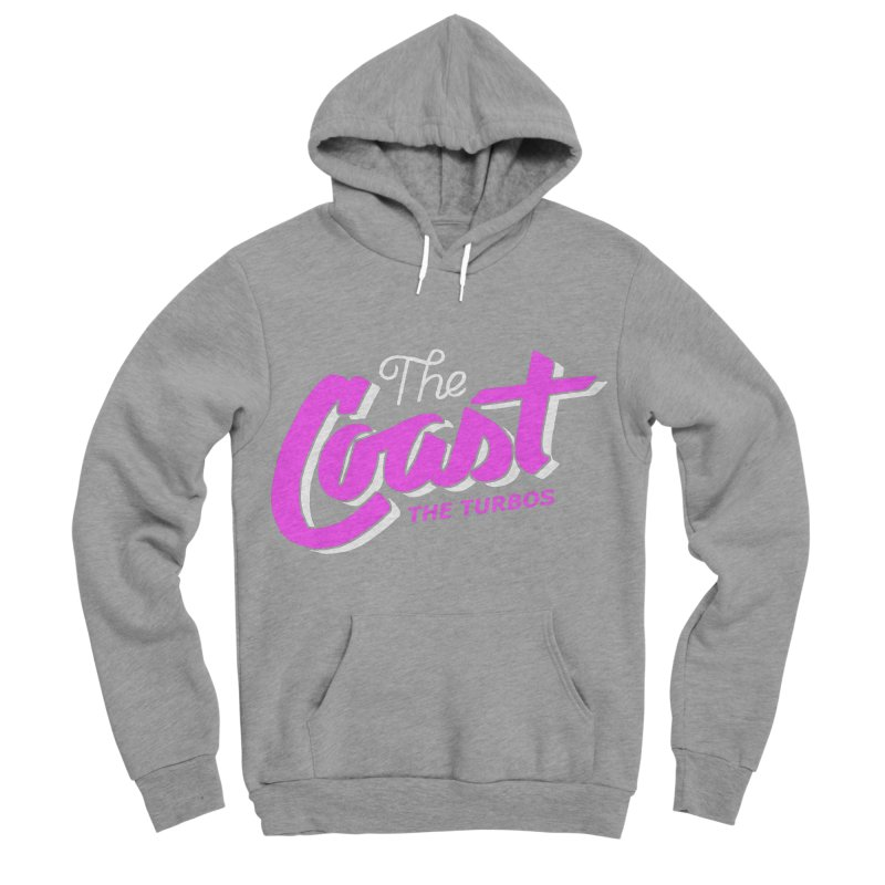 The Coast Women's Sponge Fleece Pullover Hoody by The Turbos Merch Stand