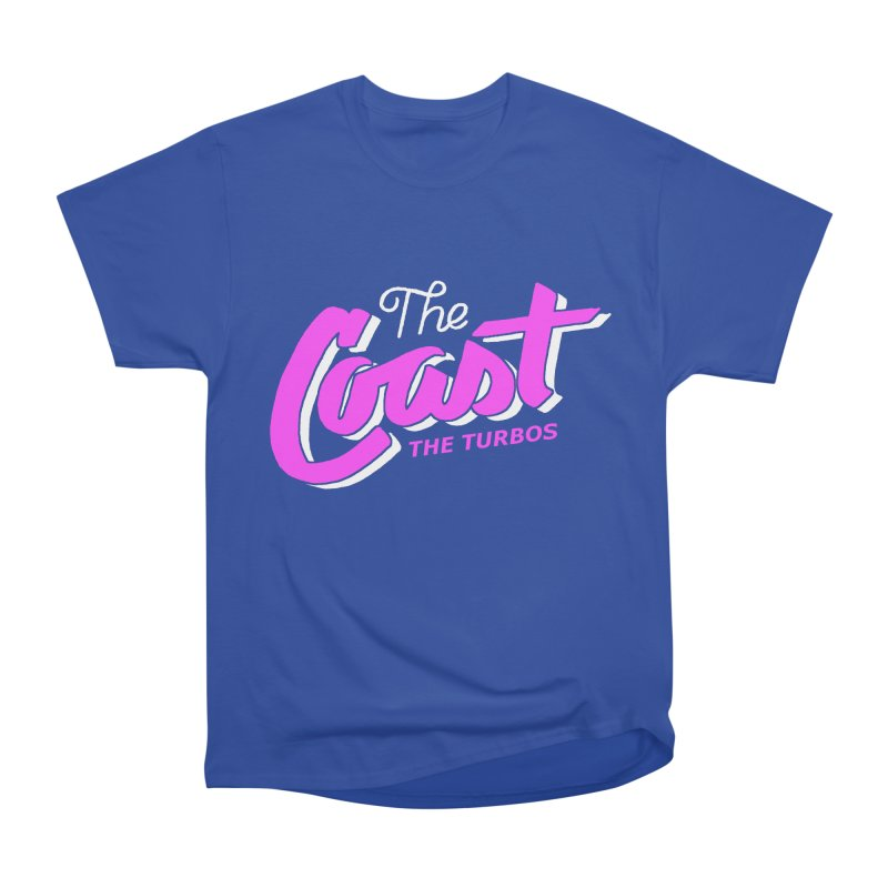 The Coast Men's Heavyweight T-Shirt by The Turbos Merch Stand