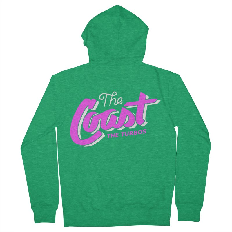 The Coast Women's Zip-Up Hoody by The Turbos Merch Stand