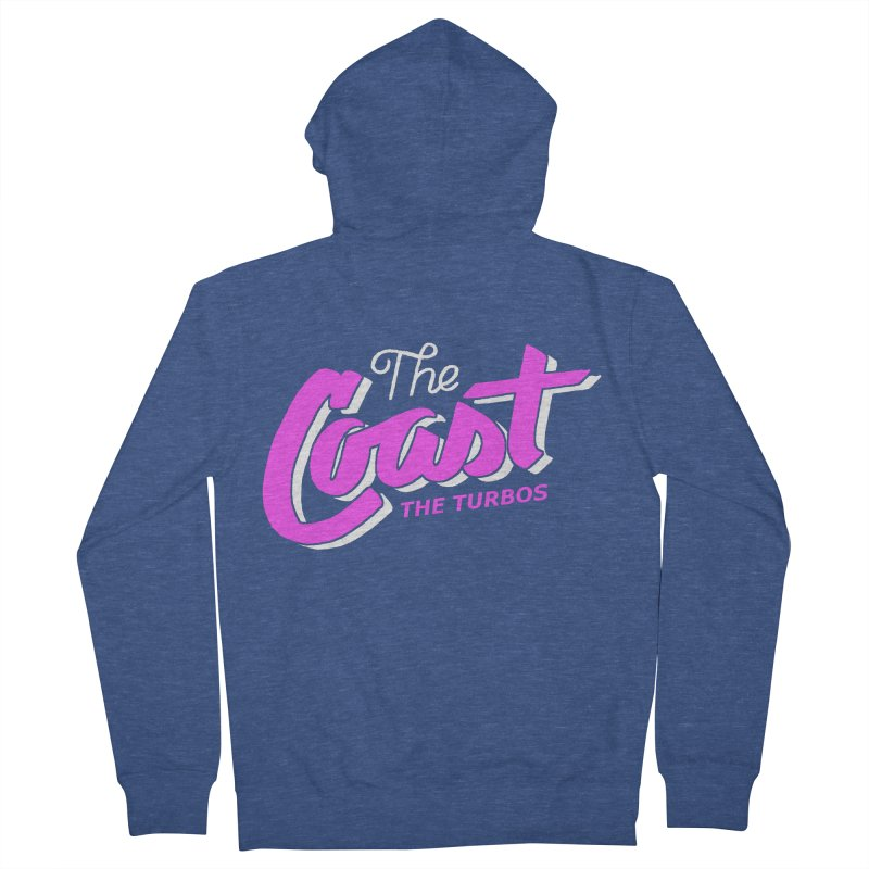 The Coast Women's French Terry Zip-Up Hoody by The Turbos Merch Stand