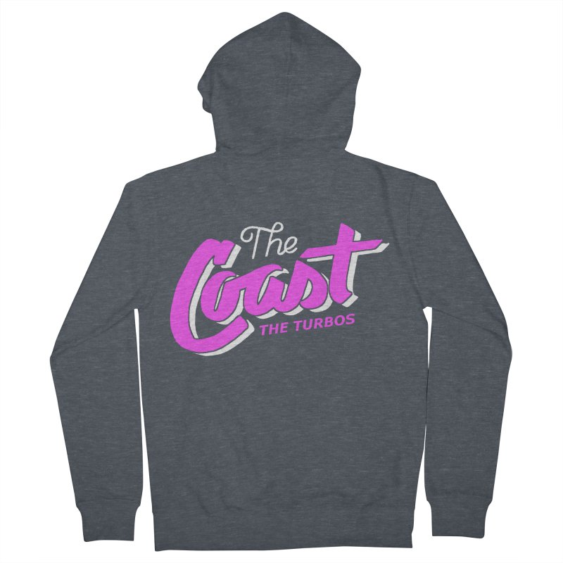 The Coast Men's French Terry Zip-Up Hoody by The Turbos Merch Stand