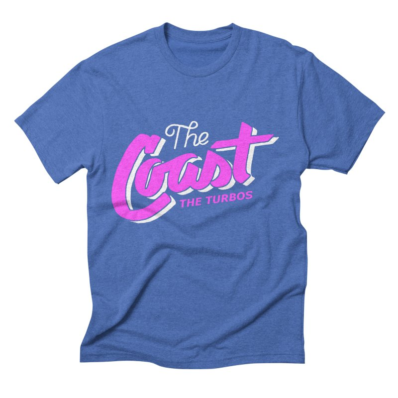 The Coast Men's Triblend T-Shirt by The Turbos Merch Stand