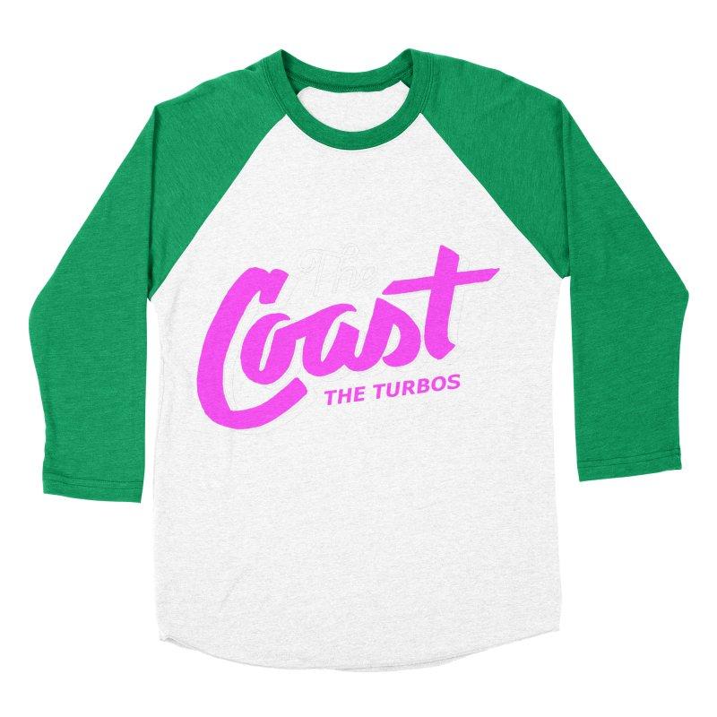 The Coast Women's Baseball Triblend Longsleeve T-Shirt by The Turbos Merch Stand