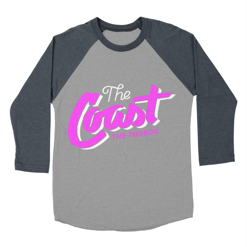 The Coast Women's Baseball Triblend Longsleeve T-Shirt by The Turbos Merch Stand