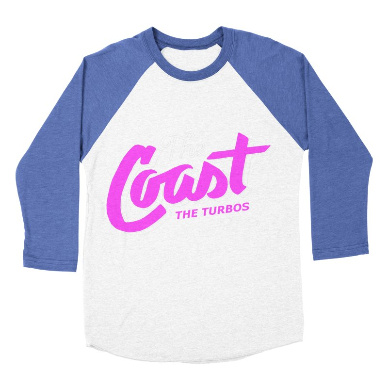 The Coast Men's Baseball Triblend Longsleeve T-Shirt by The Turbos Merch Stand