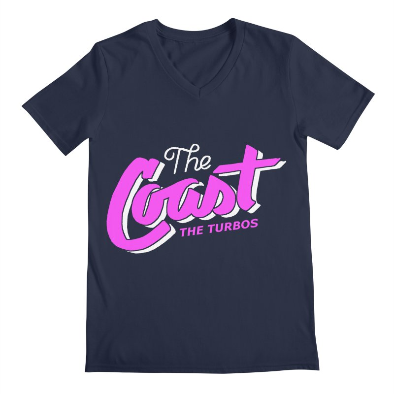 The Coast Men's Regular V-Neck by The Turbos Merch Stand
