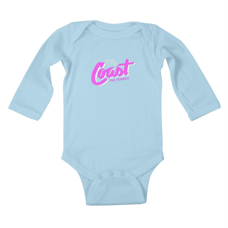 The Coast Kids Baby Longsleeve Bodysuit by The Turbos Merch Stand