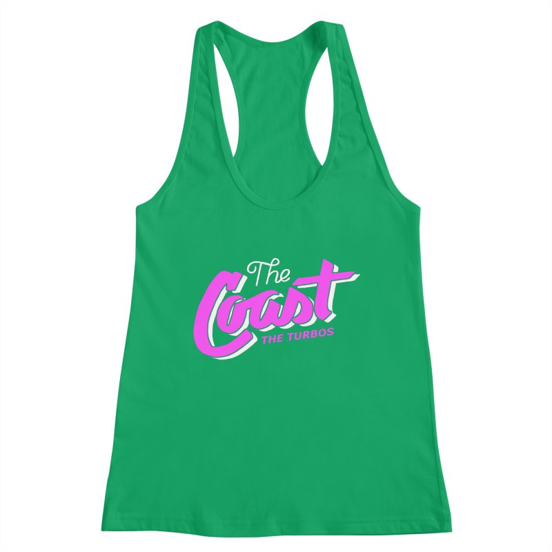 The Coast Women's Tank by The Turbos Merch Stand