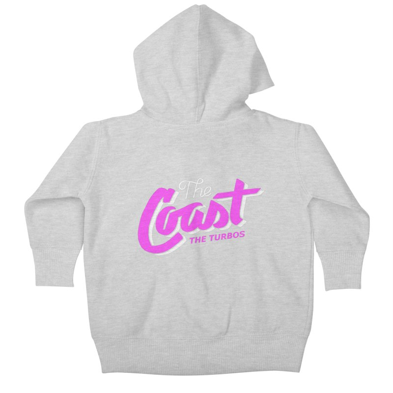The Coast Kids Baby Zip-Up Hoody by The Turbos Merch Stand