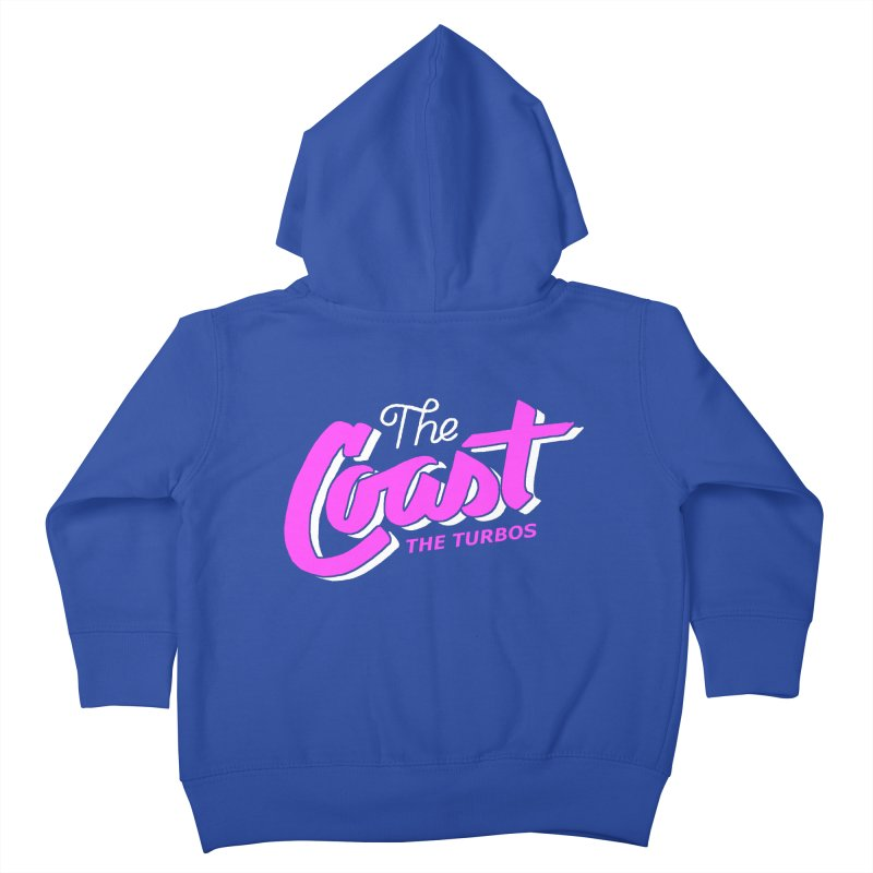 The Coast Kids Toddler Zip-Up Hoody by The Turbos Merch Stand
