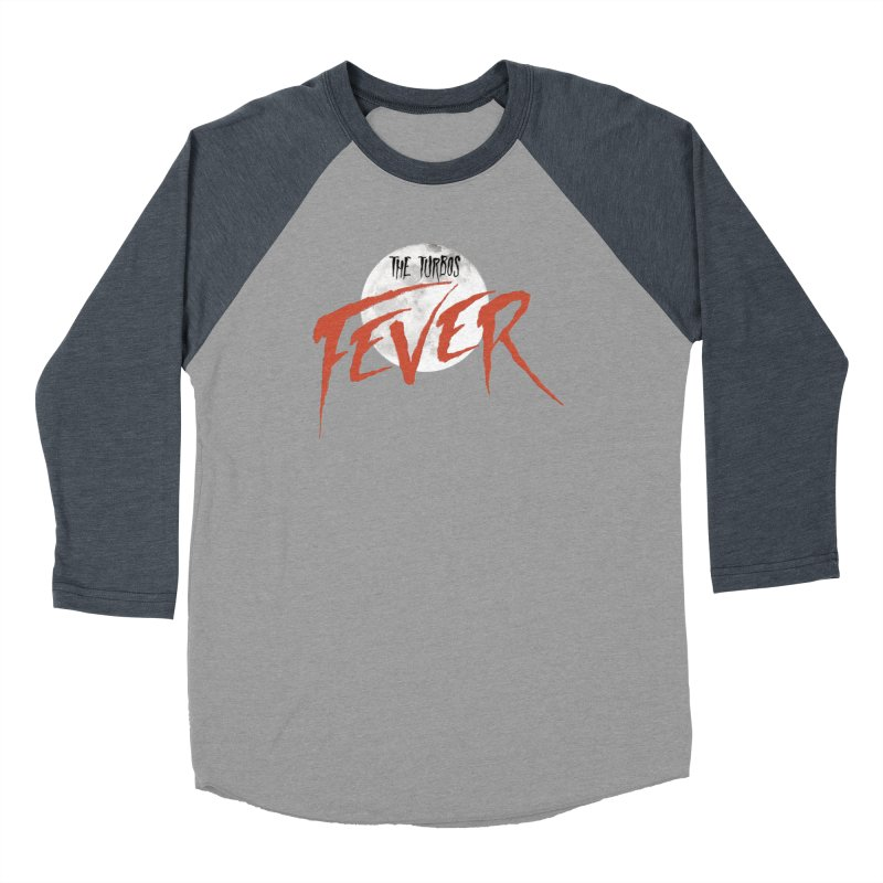 Fever Women's Baseball Triblend Longsleeve T-Shirt by The Turbos Merch Stand