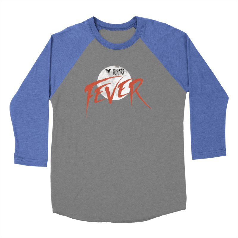 Fever Men's Baseball Triblend Longsleeve T-Shirt by The Turbos Merch Stand