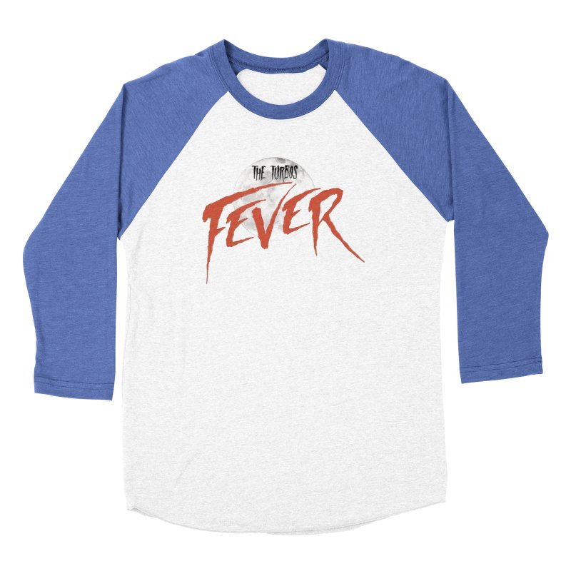 Fever Men's Baseball Triblend Longsleeve T-Shirt by The Turbos Merch Stand