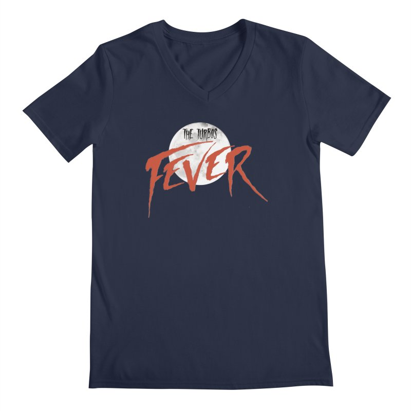 Fever Men's Regular V-Neck by The Turbos Merch Stand